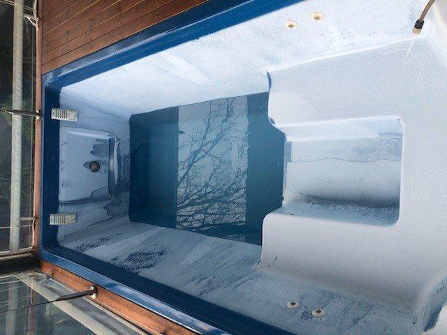 calcium hardness in fibreglasss pool